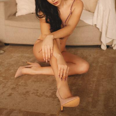 Newmarket escort Marina in lingerie